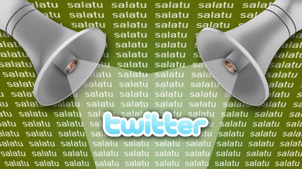 Nola salatu Twitterren