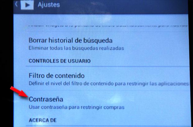 tablet pasahitza