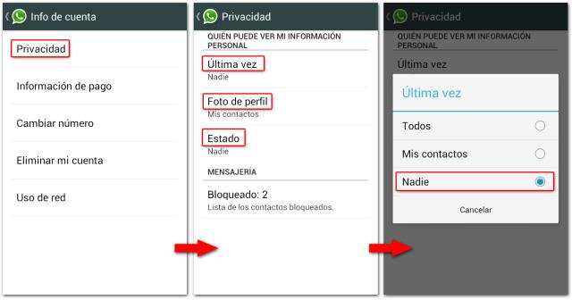 WhatsApp kudeaketa